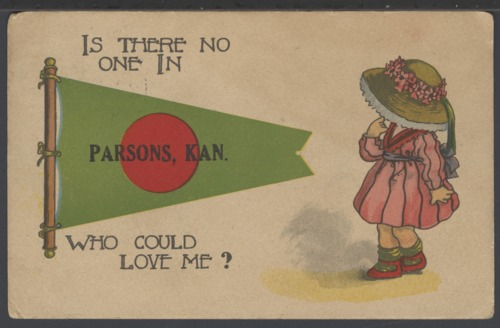 Is there no one in Parsons, Kansas who could love me? - Page