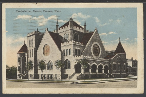 Presbyterian Church in Parsons, Kansas - Page