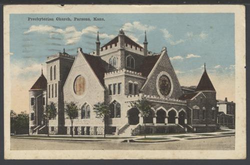 Presbyterian Church in Parsons, Kansas - Page