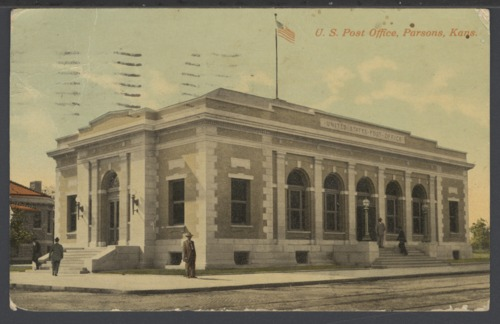 U. S. Post Office in Parsons, Kansas - Page