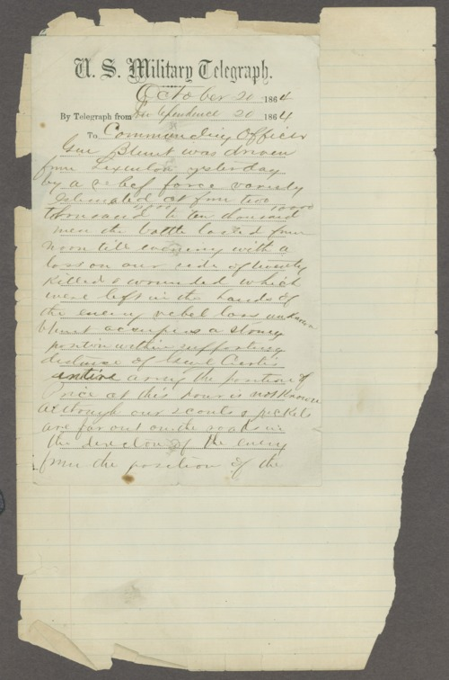 R.N. Hershfield to his commanding officer - Page