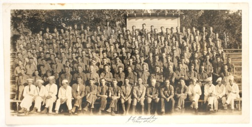 Civilian Conservation Corps Company 1709 - Page