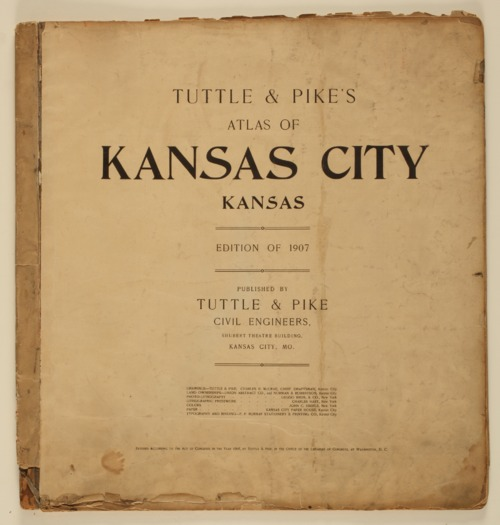 Tuttle and Pike's atlas of Kansas City, Kansas - Page