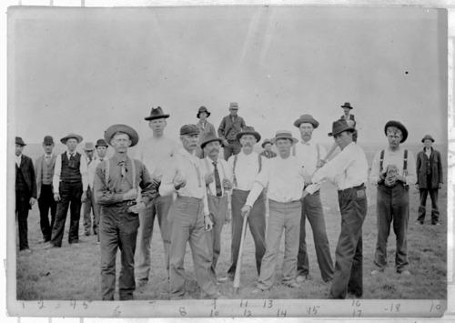 Baseball players in Tribune, Kansas - Page