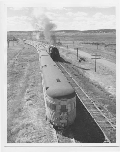 Atchison, Topeka & Santa Fe Railway Company Chiefs (trains) - Page