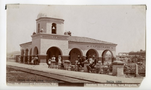 Atchison, Topeka & Santa Fe Railway Company depot, San Juan Capistrano, California - Page