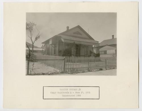 California, Arizona & Santa Fe Railway Company cottage, Barstow, California - Page
