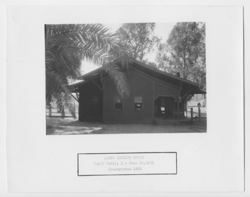 California, Arizona, & Santa Fe section house, Danby, California - Page