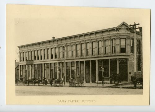 Topeka Daily Capital, Topeka, Kansas - Page