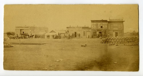 Street with businesses, Hays, Kansas - Page