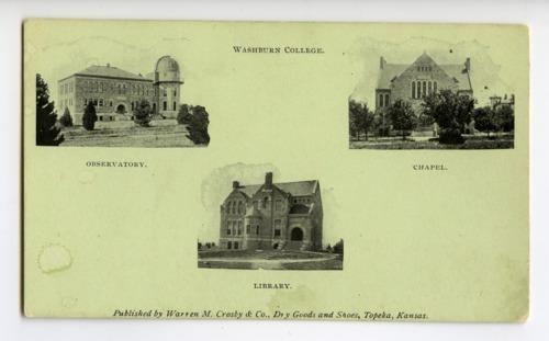 Washburn University campus, Topeka, Kansas - Page