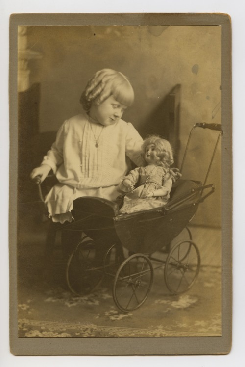 Girl with doll - Page