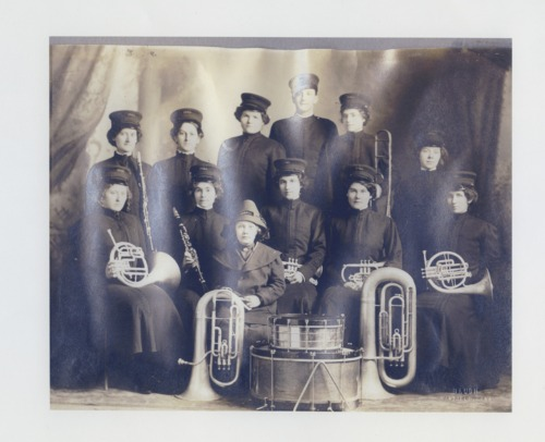 Women's band, Udall, Kansas - Page