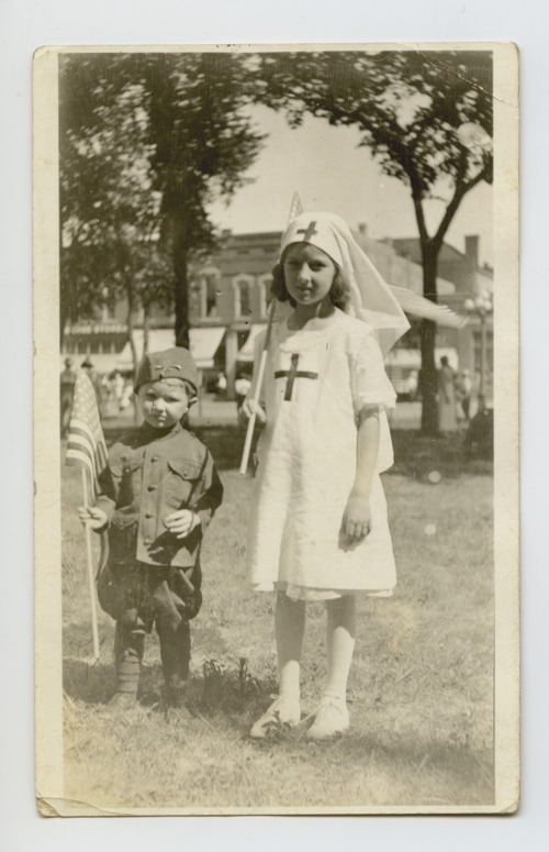 Children in costume, Clay Center, Kansas - Page