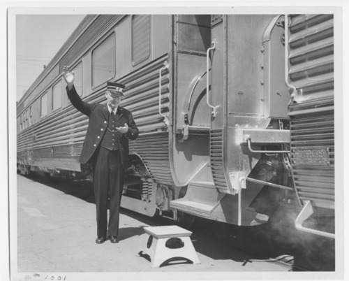 Atchison, Topeka and Santa Fe Railway Company conductor - Page