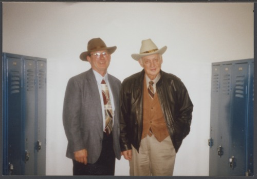 Judge Richard Dean Rogers and Jack Gump - Page