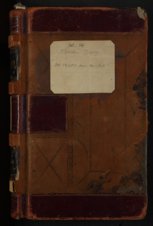 Samuel Reader's diary, volume 14 - Page