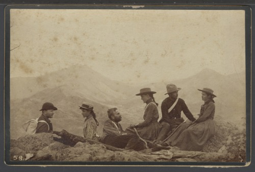 William Allen White and friends hiking in Colorado - Page