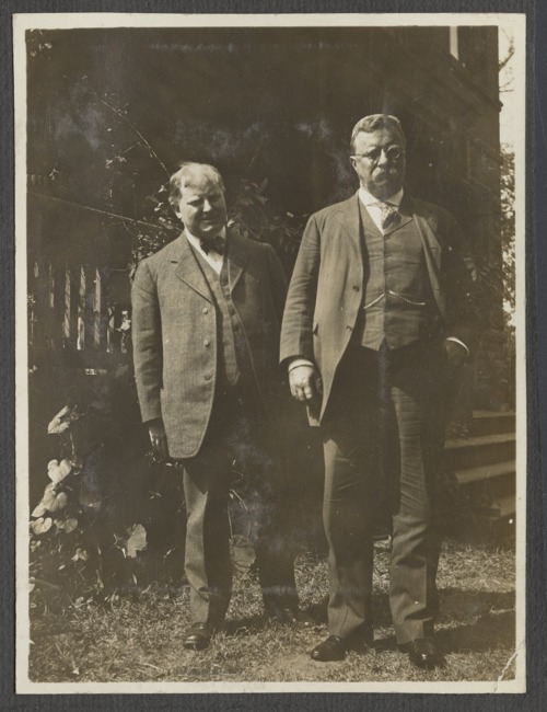 William Allen White and President Theodore Roosevelt - Page