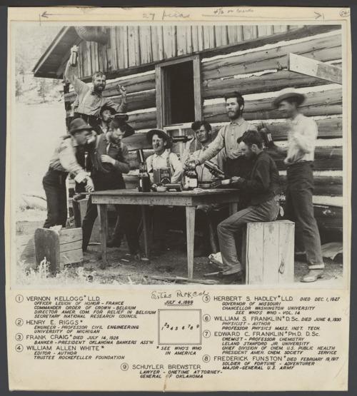 William Allen White with friends in Estes Park, Colorado - Page