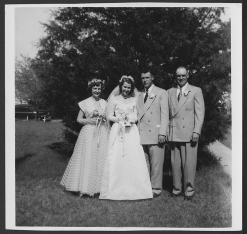 Wedding gown worn by Dorothy Peterson Sitts - Page