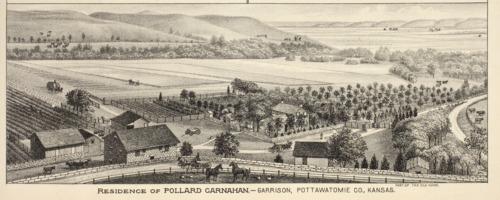 Pollard Carnahan farm near Garrison, Kansas - Page