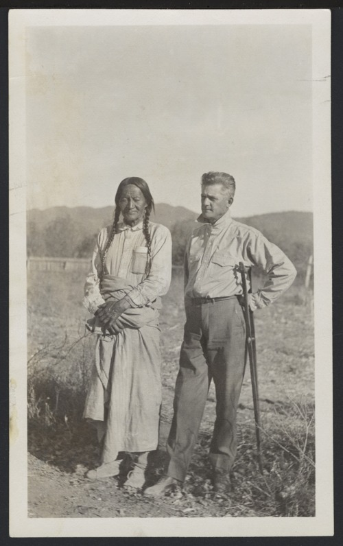 Thurlow Lieurance and Chief Veu Tura - Page