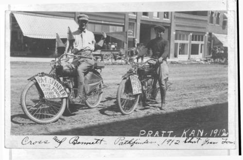 Kansas Short Grass Motorcycle Club pathfinders in Pratt, Kansas - Page