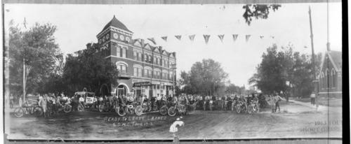 Kansas Short Grass Motorcycle Club tour in Larned, Kansas - Page