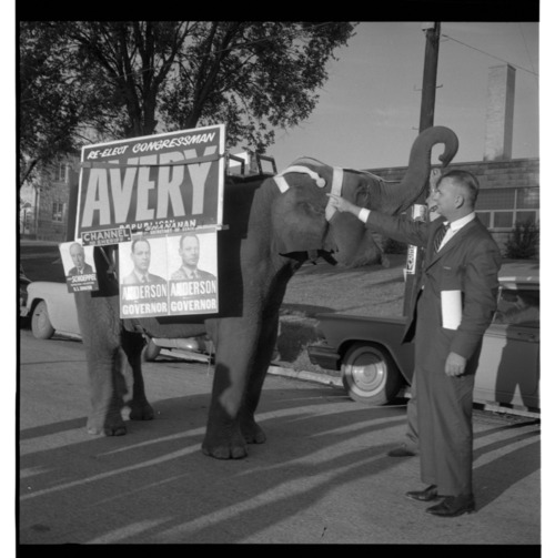 William Avery at a GOP rally in Onaga, Kansas - Page