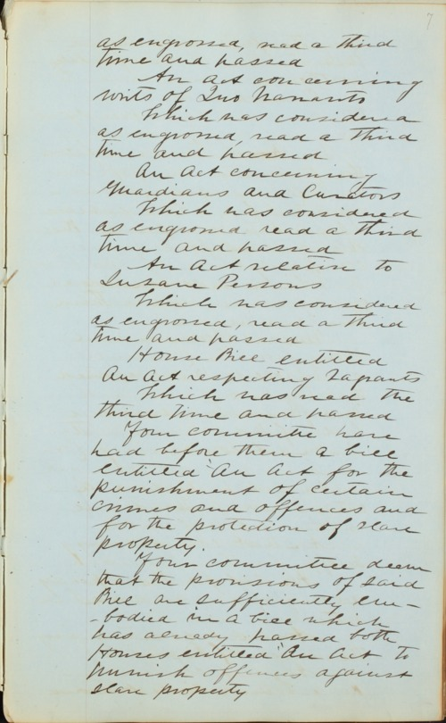 Kansas Territory council journal - Page