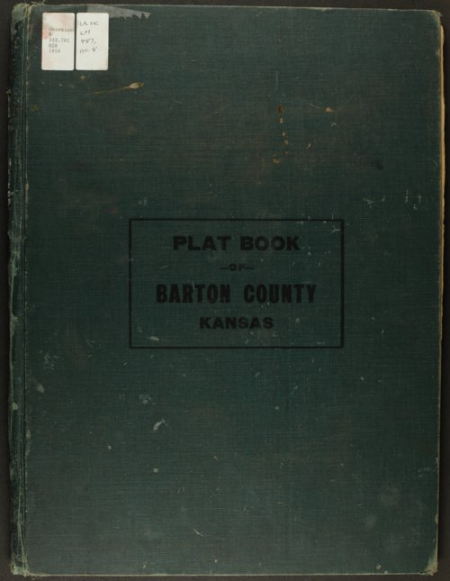 Atlas and plat book of Barton County, Kansas - Page