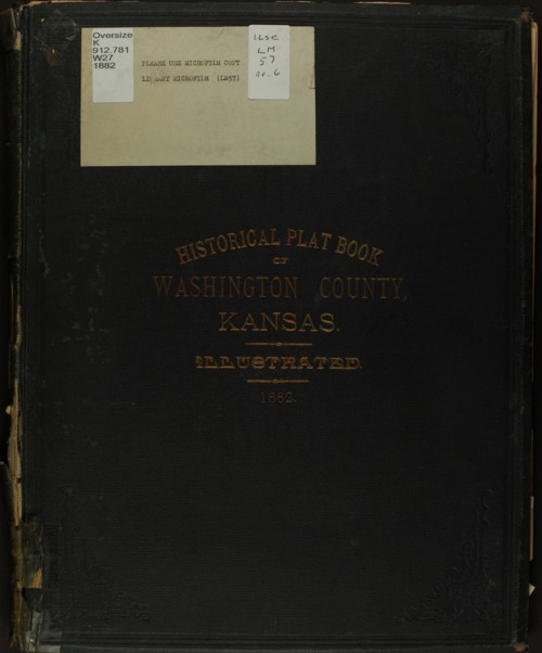 Historical plat book of Washington County, Kansas - Page