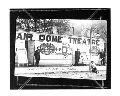 Air Dome Theater, Ellsworth, Kansas - Page
