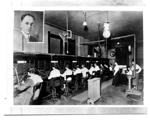 Telephone Switchboard, Fort Scott, Kansas - Page