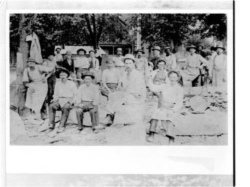 Laborers at Capitol, Topeka, Kansas - Page