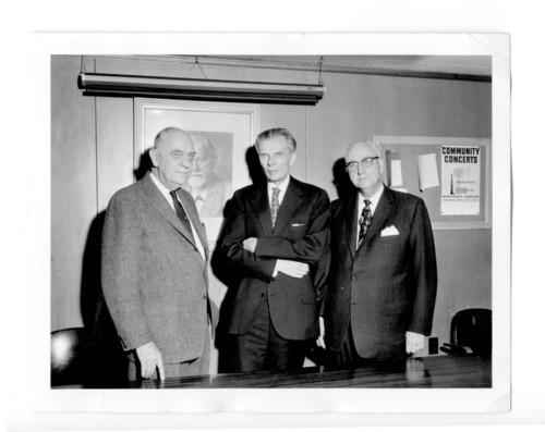William C. Menninger, M.D., Aldous Huxley, and Karl A. Menninger, M.D. - Page