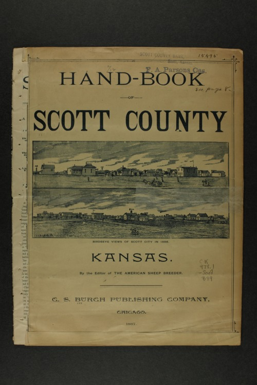 Handbook of Scott County, Kansas - Page