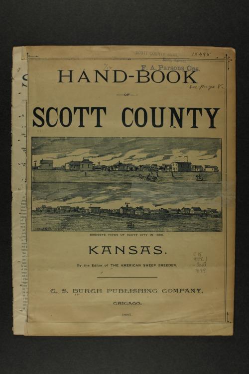 Handbook of Scott County, Kansas - Page