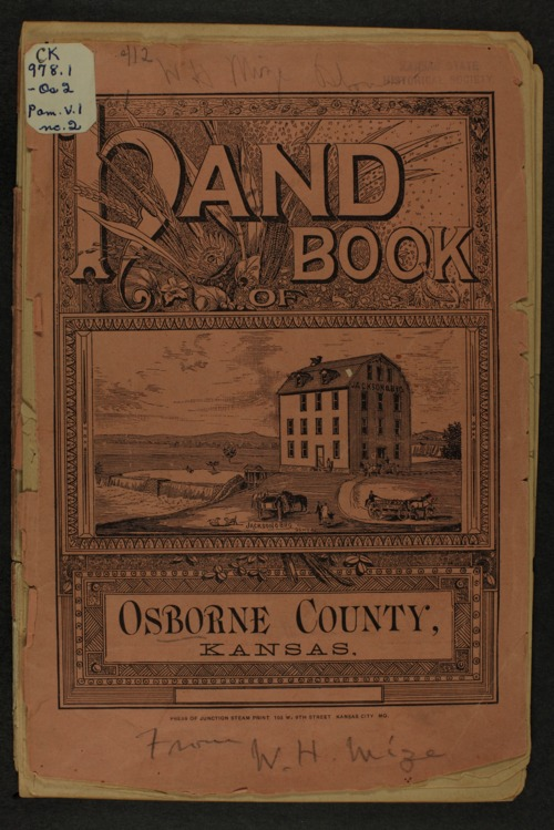 Handbook of Osborne County, Kansas - Page