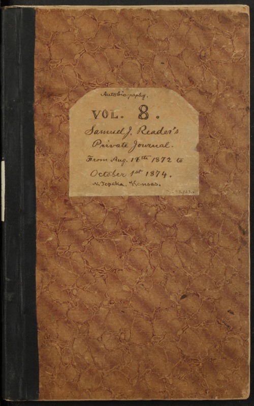 Samuel Reader's diary, volume 8 - Page