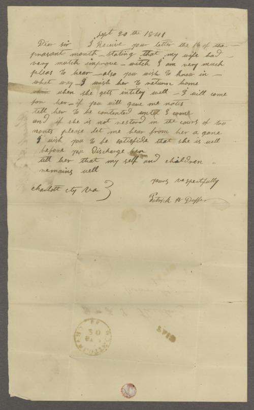 Francis T. Stribling correspondence - Page