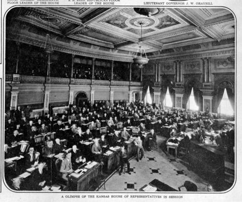 Capitol (interior), Topeka, Kansas - Page