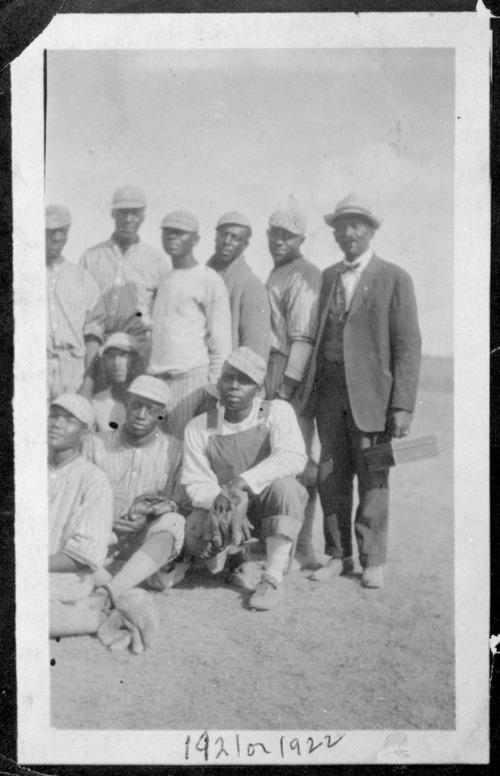 Baseball team, Nicodemus, Kansas - Page