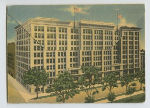 Souvenir folder of Winter Veteran's Hospital, Topeka, Kansas - Page
