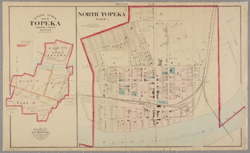Outline index map of Topeka, Shawnee County, Kansas - Page
