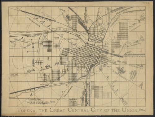 Topeka. The great central city of the union. - Page