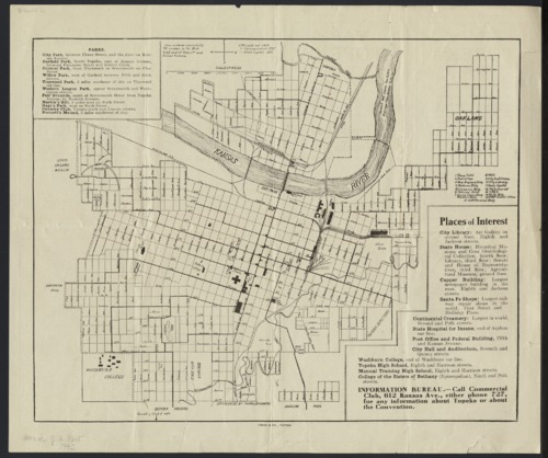 Map of Topeka - Page