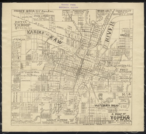 A map of Topeka - Page