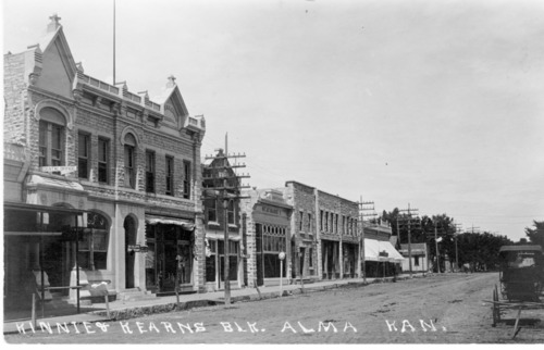 Kinnie and Kearns building, Alma, Kansas - Page